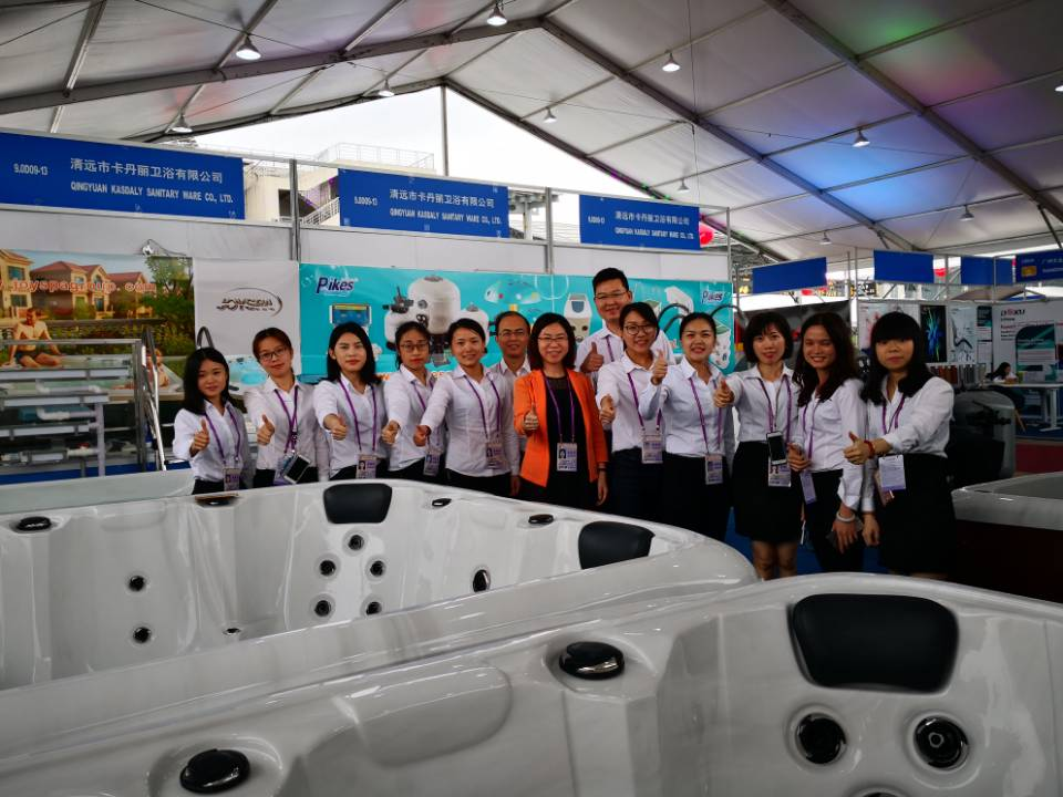 JOYSPA Has Made a Big Success in the Apr,2018 Guangzhou Fair